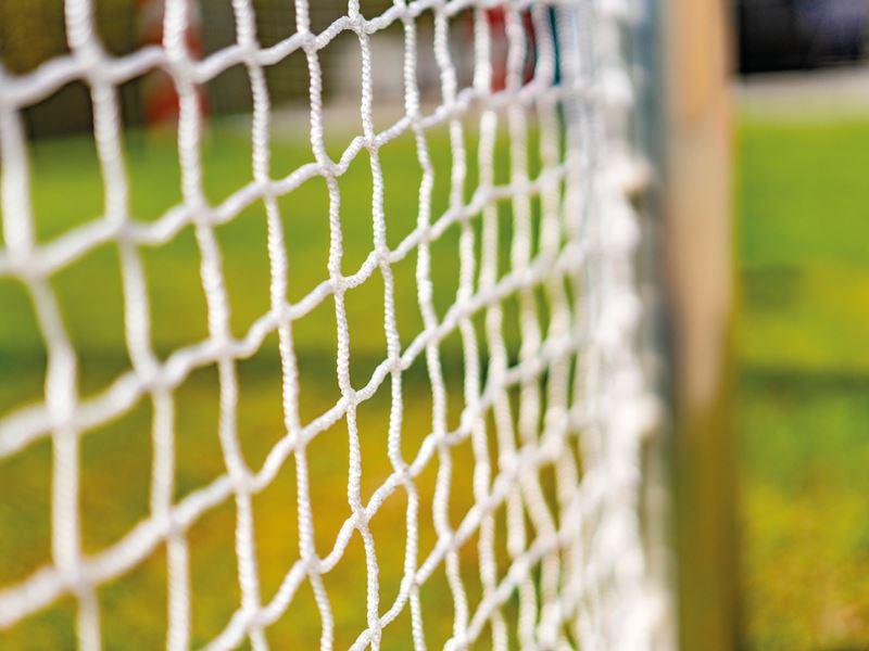3 mot 3 fotbollsnät